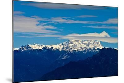 The Rugged Snow and Ice Covered Peak of Mount Kula Kangri, the Highest Mountain in Bhutan-Jason Edwards-Mounted Photographic Print