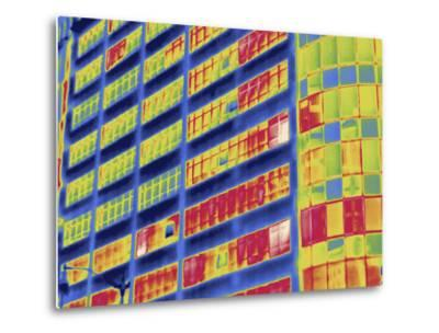 Thermal Image of Buildings in Washington D.C-Tyrone Turner-Metal Print