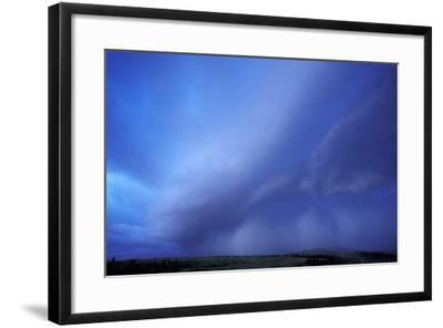 An Evening Storm over the Blacktail Plateau-Tom Murphy-Framed Photographic Print