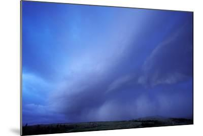 An Evening Storm over the Blacktail Plateau-Tom Murphy-Mounted Photographic Print