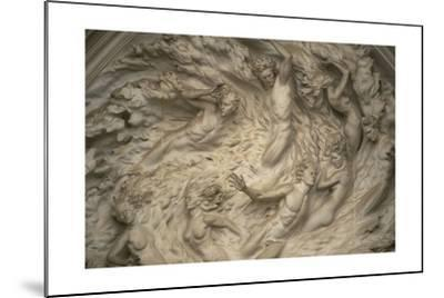 The Ex Nihilo Relief by Frederick Hart Above the Central Portal of the National Cathedral-Joel Sartore-Mounted Photographic Print