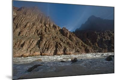 An Early Winter Morning in Granite Rapid, Colorado River-David Edwards-Mounted Photographic Print