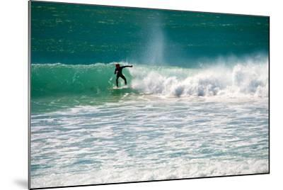 A Man Surfing Off the Coast of South Africa-Heather Perry-Mounted Photographic Print