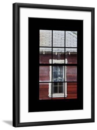 A View Through a Window at the Abandoned Kennecott Copper Mine-Marc Moritsch-Framed Photographic Print