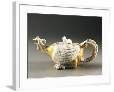 Zoomorphic Teapot, Porcelain, Germany--Framed Photographic Print