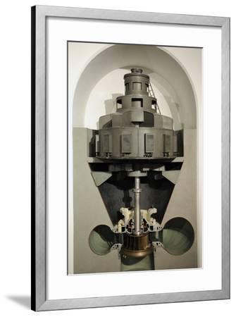 Working Model of a Pelton Turbine, Escher Wyss Ag, Ravensburg, 1952--Framed Photographic Print