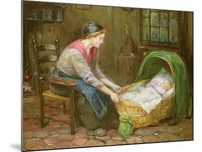 Mother and Child-Cornelis de Vos-Mounted Giclee Print