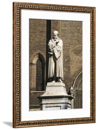 Monument to Gian Domenico Romagnosi, 1867-Cristovao Lopes-Framed Giclee Print