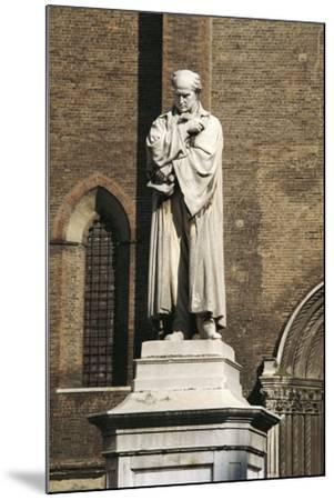 Monument to Gian Domenico Romagnosi, 1867-Cristovao Lopes-Mounted Giclee Print