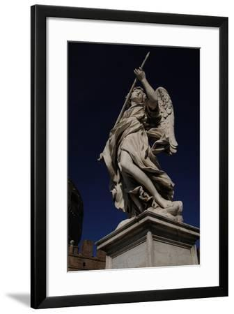 Angel with a Spear-Domenico Induno-Framed Giclee Print