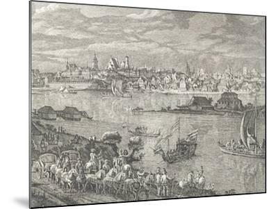View of Warsaw-Bernardo Buontalenti-Mounted Giclee Print