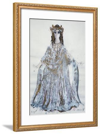 Delilah, Sketch of Costume for Samson and Delilah Opera-Charles Claude Pyne-Framed Giclee Print