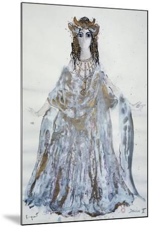 Delilah, Sketch of Costume for Samson and Delilah Opera-Charles Claude Pyne-Mounted Giclee Print