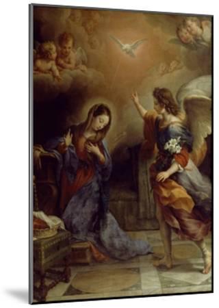 Annunciation-Alban Maria Johannes Berg-Mounted Giclee Print