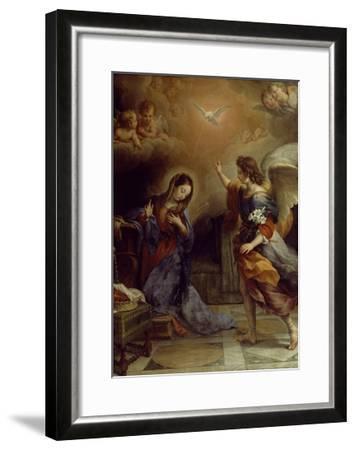 Annunciation-Alban Maria Johannes Berg-Framed Giclee Print