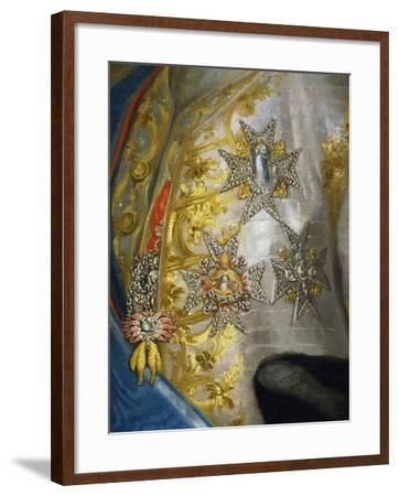 Portrait of Don Luis Antonio Jaime De Bourbon-Anton Raphael Mengs-Framed Giclee Print