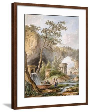 France, Versailles, from Views and Plans of the Petit Trianon at Versailles-Claudio Linati-Framed Giclee Print
