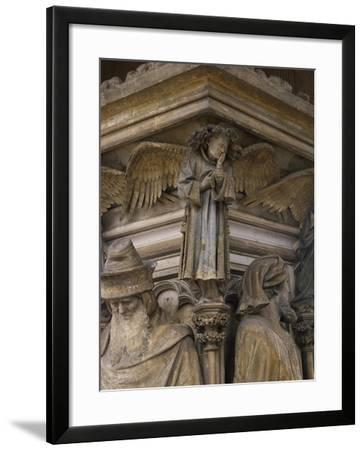Detail from 15th Century Sculptures-Clement Massier-Framed Giclee Print
