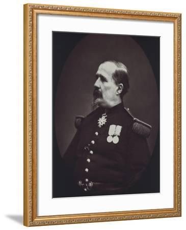 Portrait of Colonel, 1878-Eugene Fromentin-Framed Giclee Print