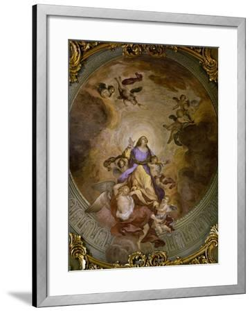 Ceiling Painting of Saint Catherine's Chapel,1830-Francesco Borromini-Framed Giclee Print