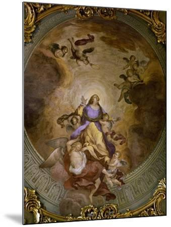 Ceiling Painting of Saint Catherine's Chapel,1830-Francesco Borromini-Mounted Giclee Print