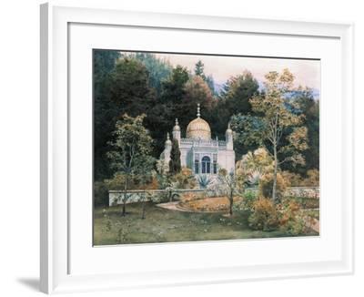 Germany, Moorish Kiosk in Park of Linderhof Castle, 1881-Heinrich Schliemann-Framed Giclee Print
