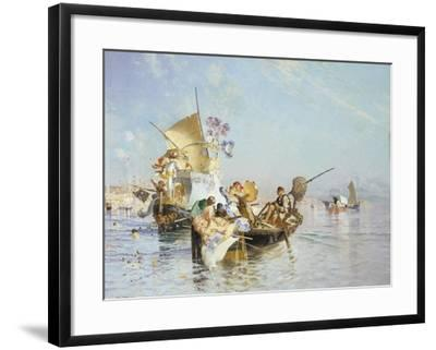 The New Song with Words and Music, 1885-Edoardo Dalbono-Framed Giclee Print