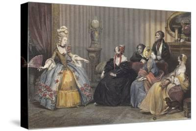 Arrangements for the Ball at the Opera-Eugene Roger-Stretched Canvas Print