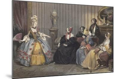 Arrangements for the Ball at the Opera-Eugene Roger-Mounted Giclee Print