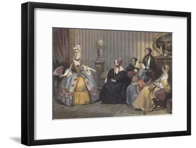 Arrangements for the Ball at the Opera-Eugene Roger-Framed Giclee Print