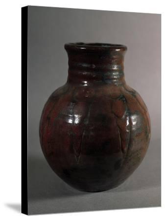 Globular Vase, 1928, France-Edouard Detaille-Stretched Canvas Print