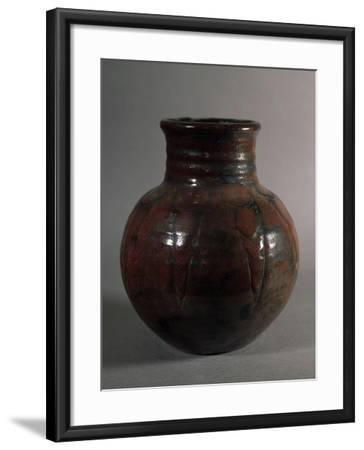 Globular Vase, 1928, France-Edouard Detaille-Framed Giclee Print