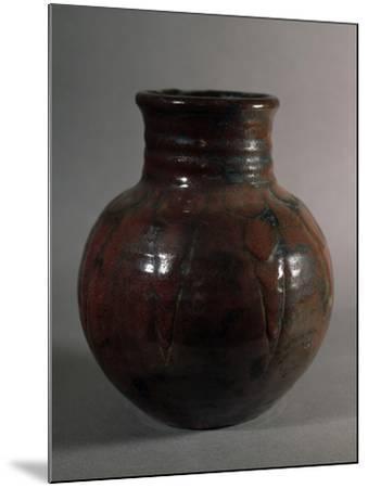 Globular Vase, 1928, France-Edouard Detaille-Mounted Giclee Print