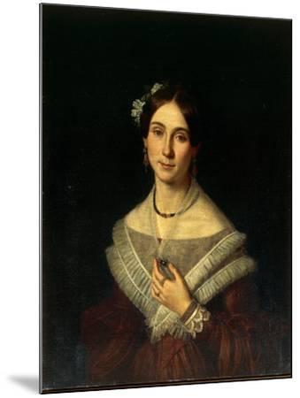 Portrait of Gentlewoman-Giuseppe Cacialli-Mounted Giclee Print