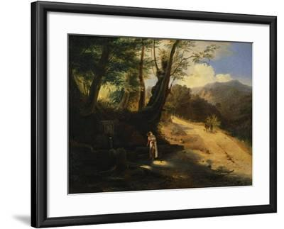 The Fountain in the Woods-Gaetano Donizetti-Framed Giclee Print
