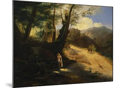 The Fountain in the Woods-Gaetano Donizetti-Mounted Giclee Print