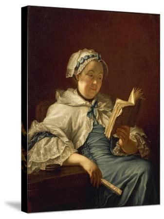 The Painter's Wife Reading, 1758-Donatello-Stretched Canvas Print