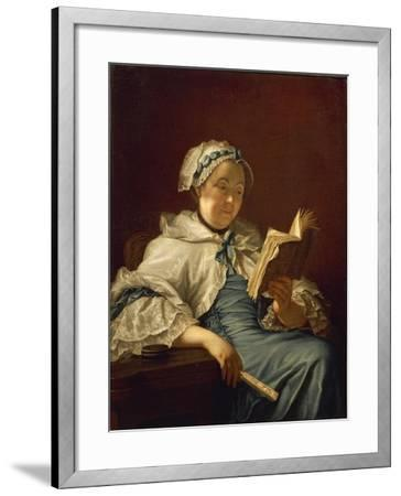 The Painter's Wife Reading, 1758-Donatello-Framed Giclee Print