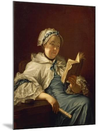 The Painter's Wife Reading, 1758-Donatello-Mounted Giclee Print