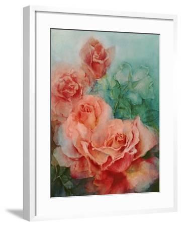 Pink Roses, Prima Ballerina-Karen Armitage-Framed Giclee Print