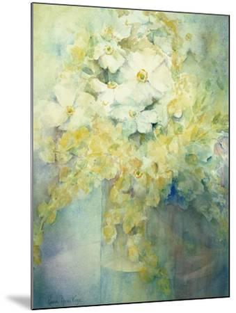Anemone Japonica - White Queen and Molu-Karen Armitage-Mounted Giclee Print