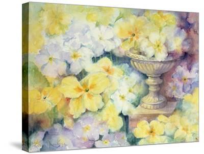 Polyanthus at Hurst-Karen Armitage-Stretched Canvas Print