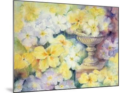 Polyanthus at Hurst-Karen Armitage-Mounted Giclee Print