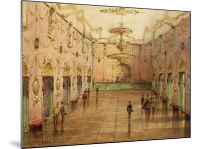 The Sperl Saal, Dancehall Where Johann Strauss' Waltzes Were Played-Kerpel Lipot-Mounted Giclee Print