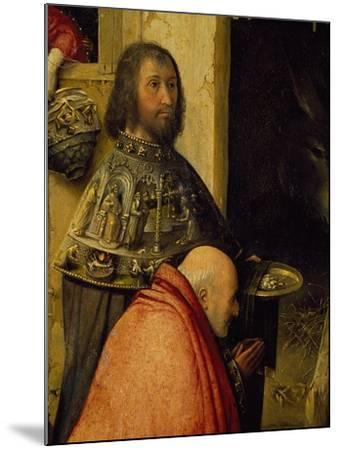Two Wise Men, Detail from Adoration of the Magi, 1510-Hieronymus Francken I-Mounted Giclee Print
