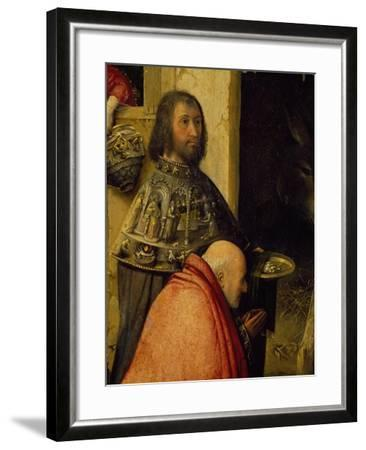 Two Wise Men, Detail from Adoration of the Magi, 1510-Hieronymus Francken I-Framed Giclee Print