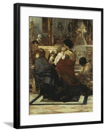 In the Church, 1881-Luigi Nono-Framed Giclee Print