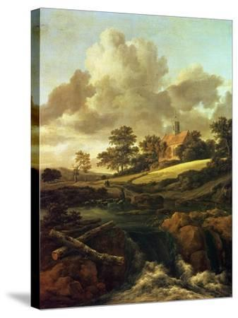 Landscape with a Stream-Jacob Le Maire and Willem Cornelisz Schouten-Stretched Canvas Print