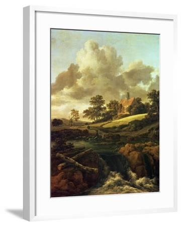 Landscape with a Stream-Jacob Le Maire and Willem Cornelisz Schouten-Framed Giclee Print