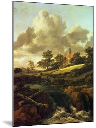 Landscape with a Stream-Jacob Le Maire and Willem Cornelisz Schouten-Mounted Giclee Print